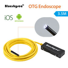 OTG Endoscope Inspection Camera 5.5mm 3.5M 720P IP67 For IOS Android Smartphone
