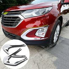 For Chevrolet Equinox 2017-2019 ABS Chrome Front bumper fog lamp Eyebrows trim