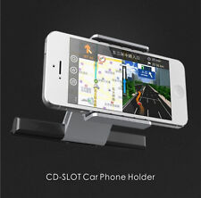 Car CD Slot Holder Mount For 3.5-5.5 Inch Mobile Phone iPhone Samsung Sat Nav