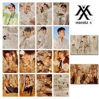 16pcs Set Monsta X Lomo Fantasia Album Collective Lomocards Photocard Shownu