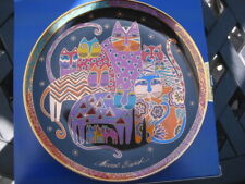 1994 Fabulous Felines Plate by Laurel Burch Franklin Mint Heirloom Collection #