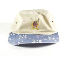 VINTAGE Tommy Hilfiger Tan Lion Crest One Size Hat Cap