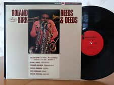 Roland Kirk,Reeds & Deeds,Mercury SR 60800,1st STEREO PRESSING,VG+ Vinyl Jazz LP
