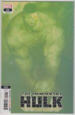 Immortal Hulk #21 Alex Ross 2nd Print Variant