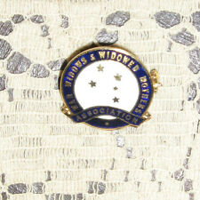 War Widows & Widowed Mothers Association Badge Pin Intact