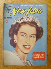 The New Idea magazine, July 14, 1954 - Queen Elizabeth cover