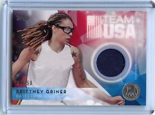 2016 Topps Olympic Brittney Griner Silver RELIC!!! 25/50!!!