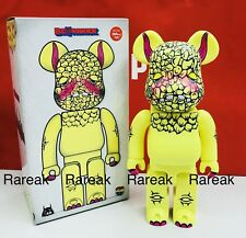 Medicom 2017 Be@rbrick Project 1/6 Pogola 400% Monster Dan Bearbrick 1pc