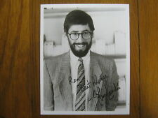 "JOHN   LANDIS  (""The  Blues  Brothers"") Signed   8  X 10  Glossy   B & W   Photo"