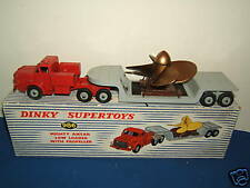 DINKY SUPER TOYS MODEL No.986 MIGHTY ANTAR LOW LOADER & PROPELLER VN MIB