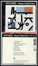 "WITNESS ""House Called Love"" (CD) 1991 NEUF"