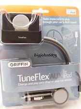 GRIFFIN TuneFlex 5G IPOD CAR CH &CRADL 6090-5GTFLXAUX