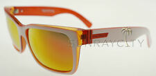 Von Zipper Elmore Frostbyte Whiteout Orange Lunar Glo Sunglasses WWO