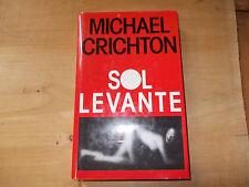 SOL LEVANTE MICHAEL CRICHTON 1993
