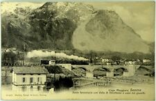 Cartolina Formato Piccolo - Baveno - Ponte Ferroviario Con Vista Di Oltrefiume E