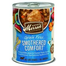 Merrick Grain Free Smothered Comfort Chicken Canned Dog Food 12 CANS