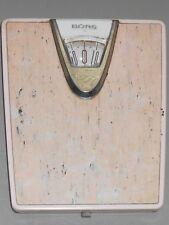 Borg Bathroom Scale Pink Silver Mid Century 1950 S Art Deco Glam Retro