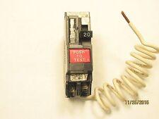 General Electric GE THQB1120GF GFCI 1 Pole 20 Amp 120/240 Volt Circuit Breaker