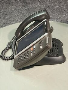 MITEL 5360 IP VOIP PHONE 50005991 w/ 50005521 ACCESSORIES MODULE, 51009841 STAND