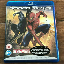 SPIDER MAN 3 ( BLU RAY, 2007 ) 2 DISC SPECIAL EDITION SET REGION FREE