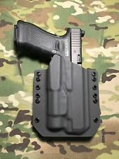 Armor Gray Kydex Light Bearing Holster for Glock 34 35 Streamlight TLR-1