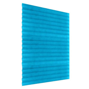 Self-Adhesive Pleated Window Blinds Half Blackout Curtain Bathroom Balcony Shade