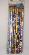 Disney Parks Authentic Mickey & Friends Minnie Donald Goofy Pencil Set of 8 NEW