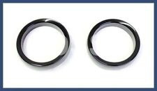 Genuine Smart Fortwo Trim Rings For Tachometer And Clock BLACK 4515420191CL2A