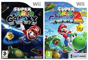 Wii   Super Mario Galaxy   1 OR 2   Choose Your Game Multi-Listing