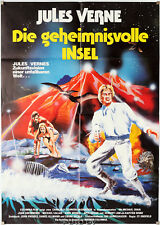 Orig.Filmplakat Geheimnisvolle Insel - Mysterious Island Harryhausen Jules Verne