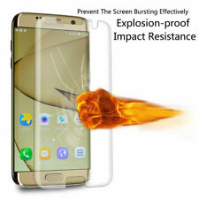 Glass Screen Protector For Samsung Galaxy S7 Edge - 100% Genuine Tempered