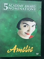 Amelie (Dvd, 2002, 2-Disc Set, Special Edition) Free Shipping-Like New - French