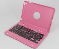 New Ultra thin Bluetooth Wireless Keyboard for Apple iPad mini 2/3/4 Stand Pink