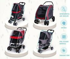 Pet Carrier Stroller Cover for All Kind Dog Cat Transparent Waterproof Cover