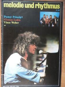 MELODIE UND RHYTHMUS 9 - 1983 (2) Vince Weber PRINZIP Tomas Ledin Fleetwood Mac