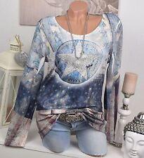 Figurbetonte Hüftlang Damenblusen,-Tops & -Shirts im Tuniken-Stil mit Polyester