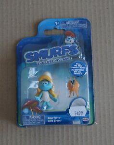 Figurines Schtroumpfs - Smurfette with Steve - JAKKS PACIFIC - 62846  NEUF