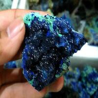 Natural Malachite Azurite Mineral Raw Gemstone Reiki Crystal Healing Stone