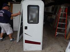 """Trailer Door, 26"""" X 72"""".  With Screen Door, Frame, Locks & Keys, New Door #101"""