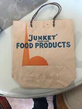 Vintage Junket Food Products Rennet 1939 NYWF paper bag
