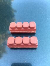 NOS WEINMANN Brake Pad Set fits Universal Vintage Bicycle 2 pads 4 DOT