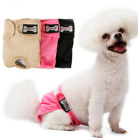 EB_ Female Pet Sanitary Panties Dog Cat Puppy Pants Short Diaper Underwear Eyefu