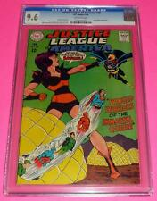 1968 JUSTICE LEAGUE OF AMERICA #60 CGC 9.6 Off White NM+ Batgirl Queen Bee 12c