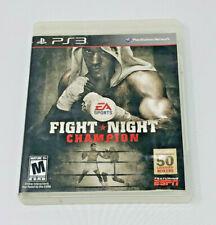 Fight Night Champion PS3 (Sony PlayStation 3, 2011) CIB