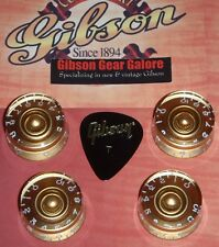 Gibson Les Paul Knobs Speed Gold Set Guitar Parts Custom R9 SG ES HP R7 Studio U