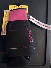 Century Women's Brave Neoprene Bag Gloves Black/Pink One Size Fits Most