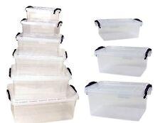 aufbewahrungsboxen mit griff f r wohnbereich g nstig kaufen ebay. Black Bedroom Furniture Sets. Home Design Ideas
