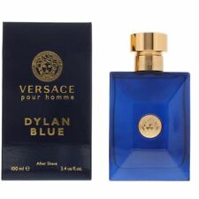 Versace Pour Homme Dylan Blue After Shave Lotion 100ml For Him - Mens Aftershave