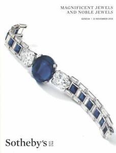 Sotheby's Catalogue Magnificent  Jewels and Noble Jewels 13 November 2019 HB