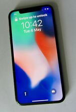 PRISTINE Apple iPhone X 256gb space grey unlocked. NEW BATTERY & Warranty.